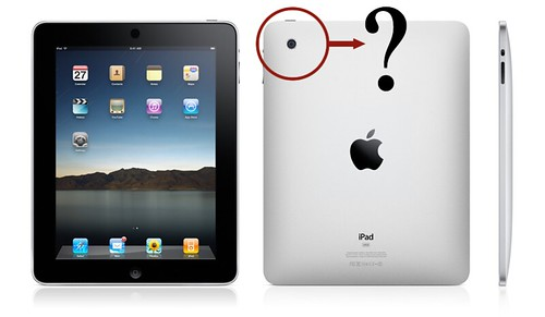 iPad: No Camera?