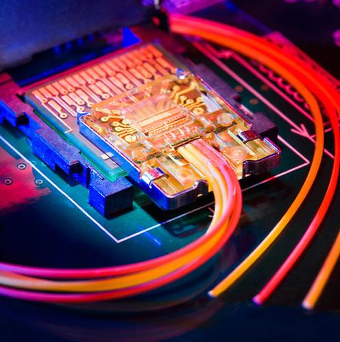 Intel fibra ptica por Electrónica Pascual.
