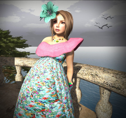 CS - Peqe Culture Gown-Flora