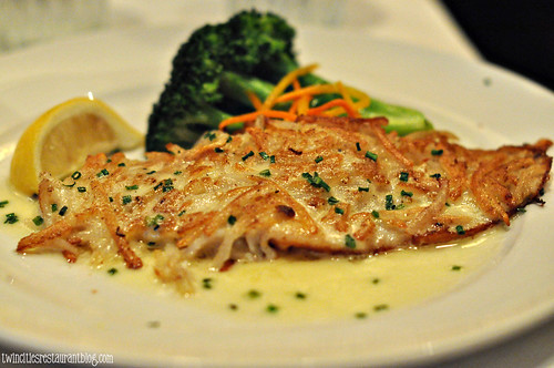 Hashbrown CRusted Red Snapper at McCormick & Schmicks ~ Minneapolis, MN