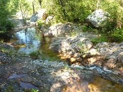 Traversée du ruisseau du Mulinelle