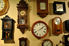 Tiempo / Time (Javiera C) Tags: santiago chile museum museo exhibición exhibition antiguo old banco bank collection colección reloj clock patrón pattern tiempo time