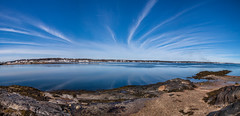 Skylines (Me in ME) Tags: harpswell maine orrsisland westharpswell southharpswell panorama explore