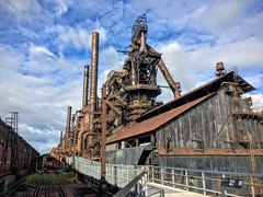 RISING ABOVE (riverrat18) Tags: bethlehemsteel steel steelmill blastfurnace decay decaying decayed rusty crusty abandoned industrial industry ue lightroom6 lr6 urbex urban urbanexploration explore factory exploration bethlehempennsylvania appleiphone6s casthouse