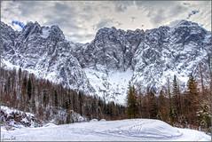 Alpi Giulie (Luciano Silei - sky7) Tags: fusine alpi alps alpigiulie mountains landscape paesaggi panorama mangart lucianosilei canon7d canon1740mm snow winter