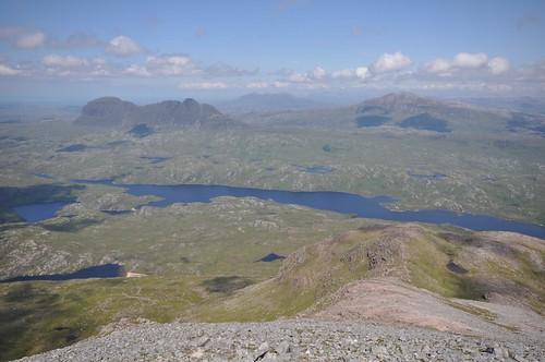 Loch Veyatie, Suilven and Canisp