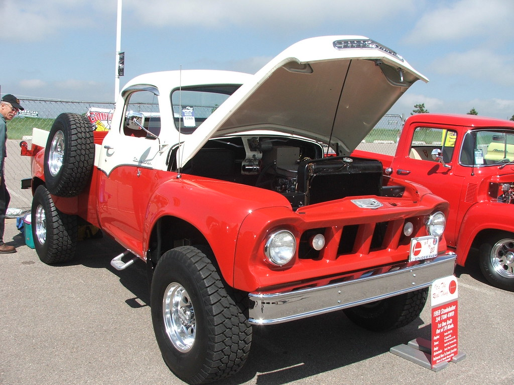 1959 studebaker 4x4 truck (1st of 20 made)
