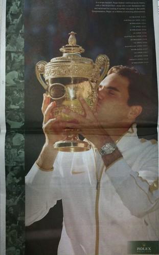 roger federer rolex ad. Roger Federer Rolex Ad - 15
