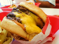 4x4 CheeseBurger from IN-N-OUT Burger (Harvey-Harv) Tags: sony fastfood fries burgers innoutburger innout cheeseburgers dschx1 sonydschx1