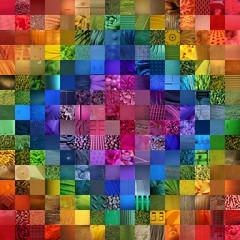 Spiral (jakerome) Tags: california blue red orange usa green yellow cool rainbow spectrum mosaic violet indigo tiles manhattanbeach roygbiv cool2 cool5 cool3 cool6 cool4 megafave cool7 unanisave iceboxcool unanicool coolsave