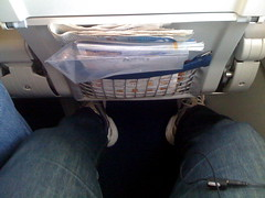 Nice space for feet even in economy
