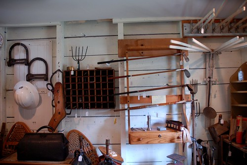 Antiques in Wiscasset, Maine
