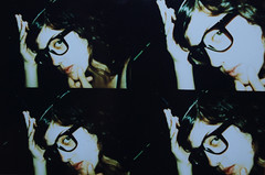 beatrix (bonitta) Tags: nerd glasses lomo lomografa lomography procesocruzado freak actionsampler gafapasta empolln listillo nerdo crossingprocess