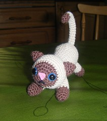 Crochet Siamese Cat Hat Pattern : The Worlds Best Photos of amigurumi and siamese - Flickr ...