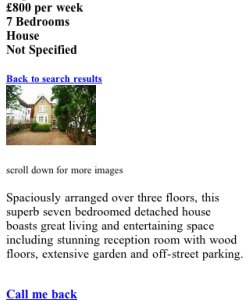 Rightmove property page