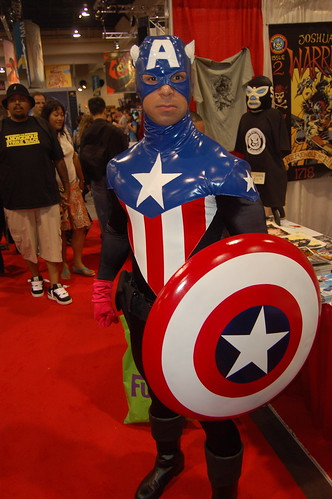 Comic Con 09: New Captain America