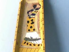 Imagem 005 (A cor do acaso) Tags: ceramica cores artesanato jardim decora cor telas acrilico telha africanas senegalesa senegalesas