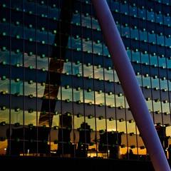 Cityline reflection
