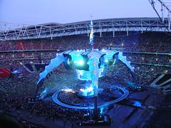 U2 (Eugene Murray) Tags: u2 stadium wembley