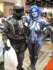 ODST and Cortana from Halo (Jason S Toronto) Tags: cosplay halo gencon 2009 cortana odst