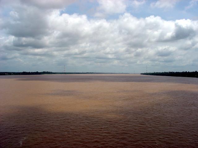 Mekong River, Thailand and Laos Border