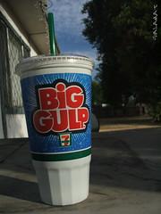 GULP (Bernard Salamat) Tags: cold 7 s5100 commercial soda eleven gulp