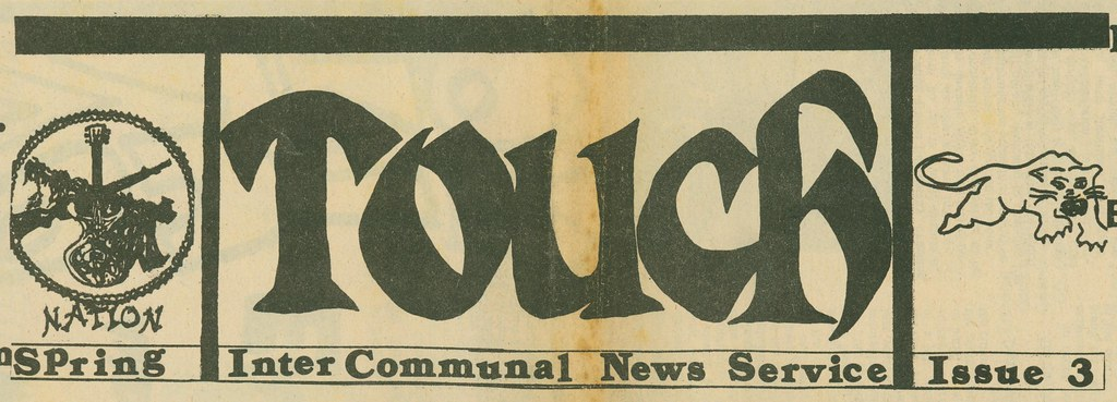 Touch: White Panther Party Intercommunal News Service (197?)