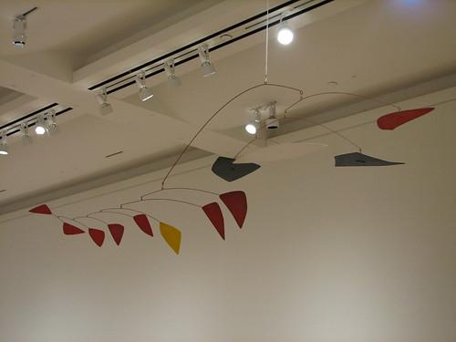 Alexander Calder Lone Yellow, 1961