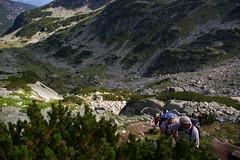 Ascent of Maliovitza 8,953ft (Alan Hilditch) Tags: park mountain lake mountains la mount rila national bulgarie bulgarije bulgarien ezera  maliovitza  malyovitsa   elenski