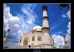 The Taj Mahal ...a different view (Suvrangshu) Tags: travel agra unescoworldheritagesite mausoleum canon5d wonderoftheworld mughalarchitecture thetajmahal mumtazmahal mughalemperorshahjahan platinumheartaward suvghosh suvrangshughoshphotography marblemausoleum