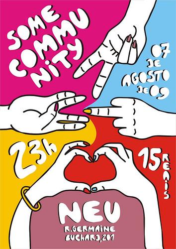Awesome Brazilian Gig Poster
