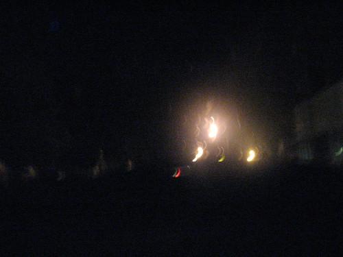 Pendleton lights, taken by Nels