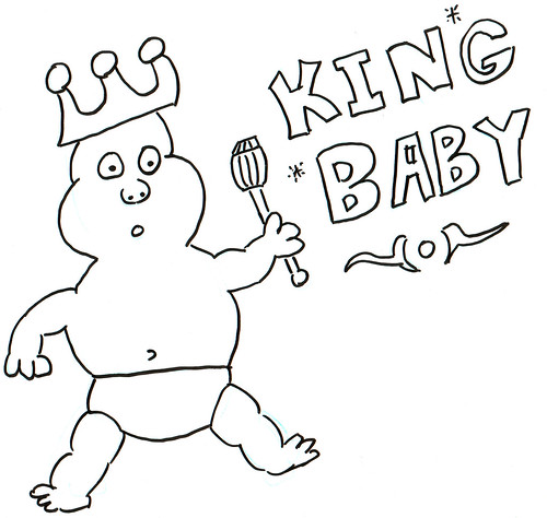366 Cartoons - 221 - King Baby