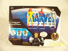 Toys R Us Exclusive - Marvel Universe - Spider-Man and his Amazing Friends #2 (JTKranix) Tags: friends toys us amazing spiderman r iceman his and marvel universe exclusive firestar marvels kranix