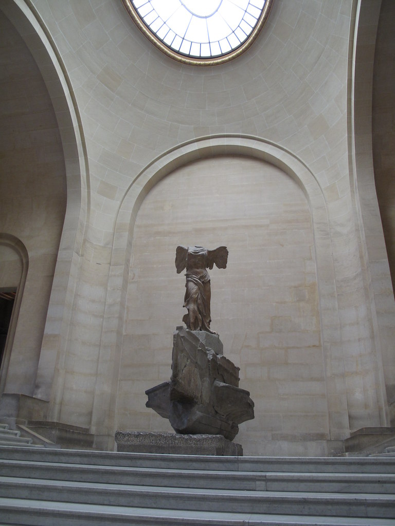 Image result for winged victory louvre