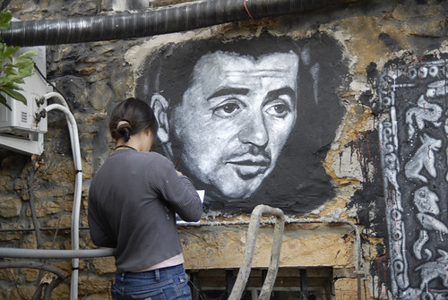 Yvan Colonna painted portrait _DDC7895