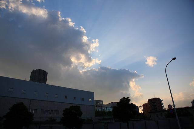 雲上の光芒