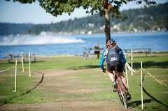 Rooster tails and a fast track at Lake Sammamish.