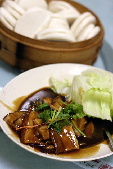 Braised Pork with Buns