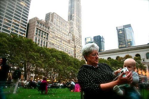 Grandma Zo Bryant park 2