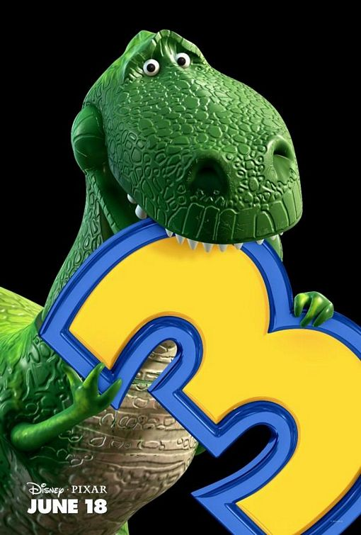 poster Toy Story 3 Rex