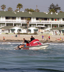 Lifeguard Speedboat Rescue