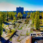 Overlooking Pripyat