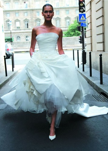 Wedding Gown by Cymbeline.