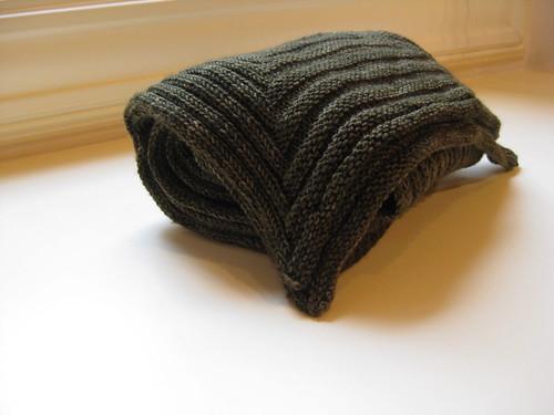 Geometric scarf for J