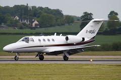 G-HEBJ - 525-0437 - EBJ Operations Ltd - Cessna 525 Citation CJ1 - Luton - 090521 - Steven Gray - IMG_2869