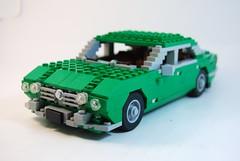 Jaguar XJ Saloon Series I 1968 (lego911) Tags: auto classic car model lego william jaguar saloon lugnuts lyons xj xj12 moc xj6