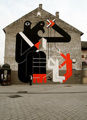 """THE ONLY TRUTH"" (remed_art) Tags: streetart art mural serbia 2009 novisad serbie muralism remed"