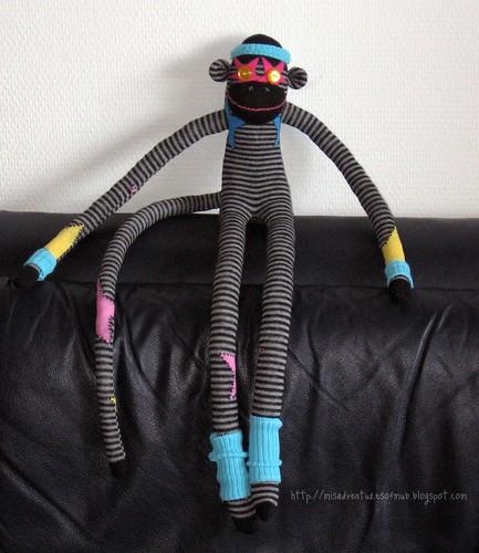 80's Glam Monkey!