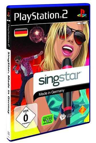 SingStar: Made in Germany - PS2 Packshot